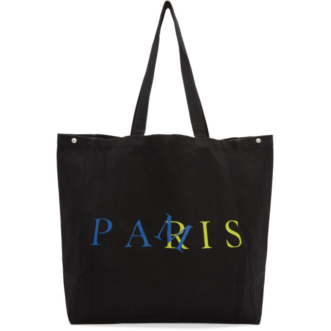 Image of Perks and Mini Black 'After Long Absence' Tote