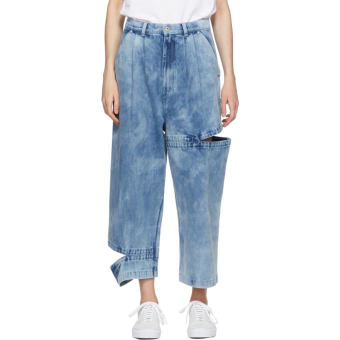 Perks and Mini Indigo Perspective Bri Bri Wide-Leg Jeans