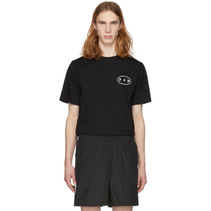 Image of Perks and Mini Black 'Pamutation' T-Shirt