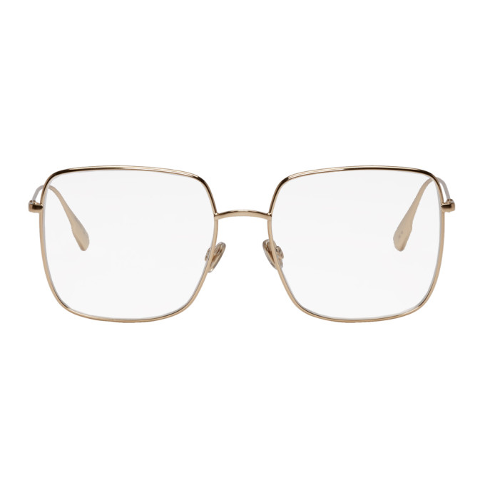 Image of Dior Gold 'Dior Stellaire' 01 Glasses