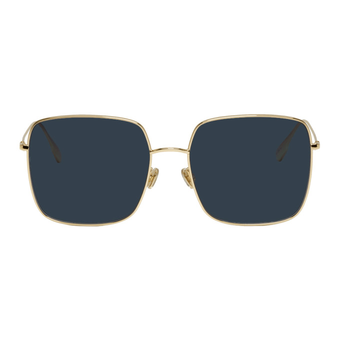 Image of Dior Gold Stellaire Square Sunglasses