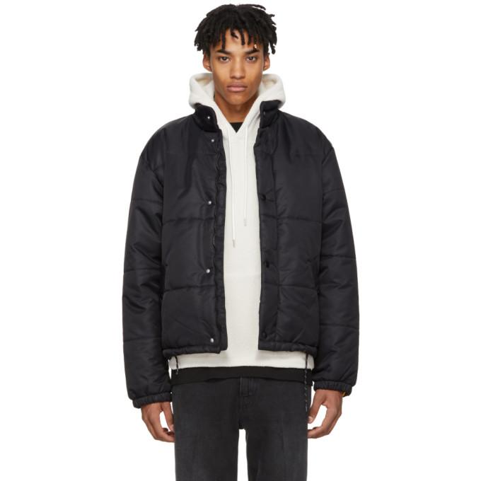 Image of Our Legacy Black Nylon Bubble Jacket