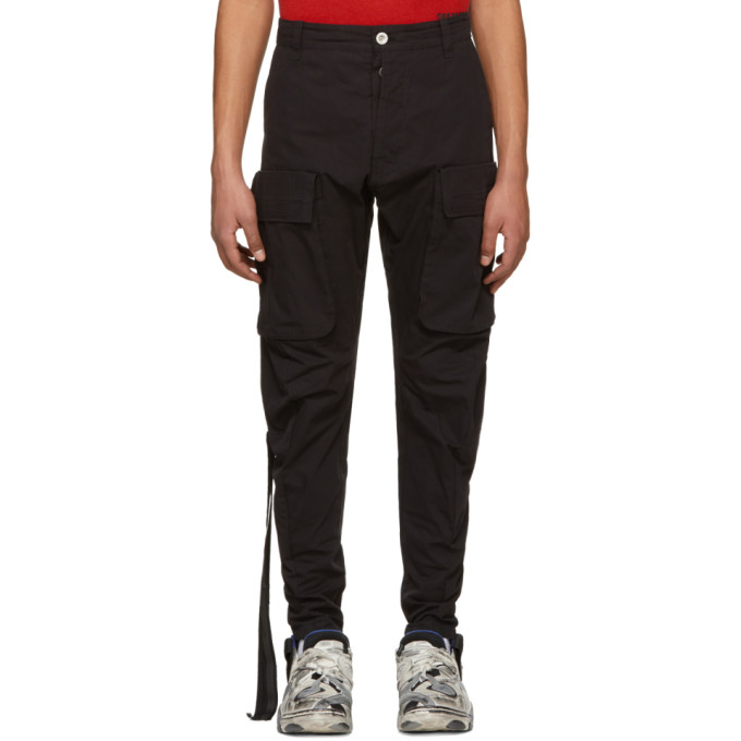 Unravel Black Tela P Trousers