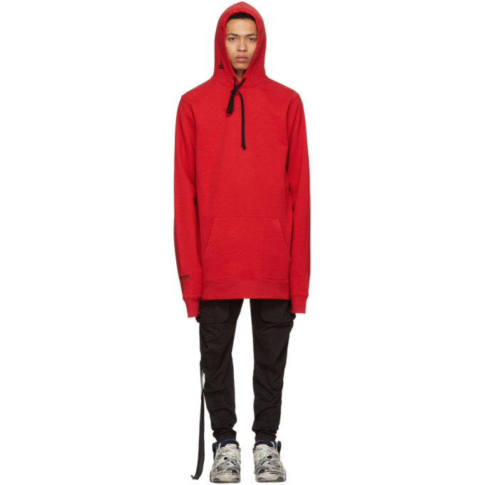 Unravel Red Distorted Tour Hoodie