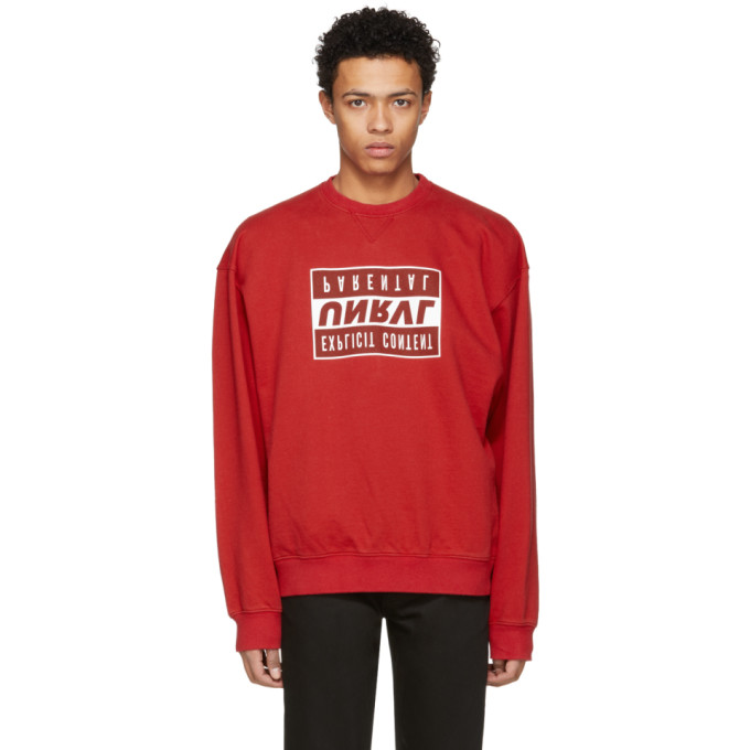 Unravel Red Explicit Sweatshirt