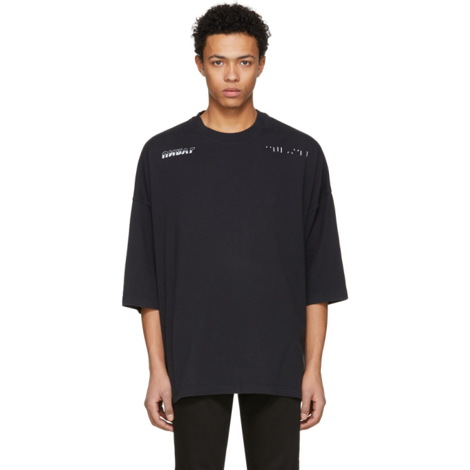 Image of Unravel Black Jersey Racing Boxy T-Shirt