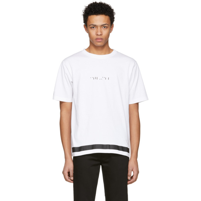 Unravel White Tattoo Jersey Skate T-Shirt