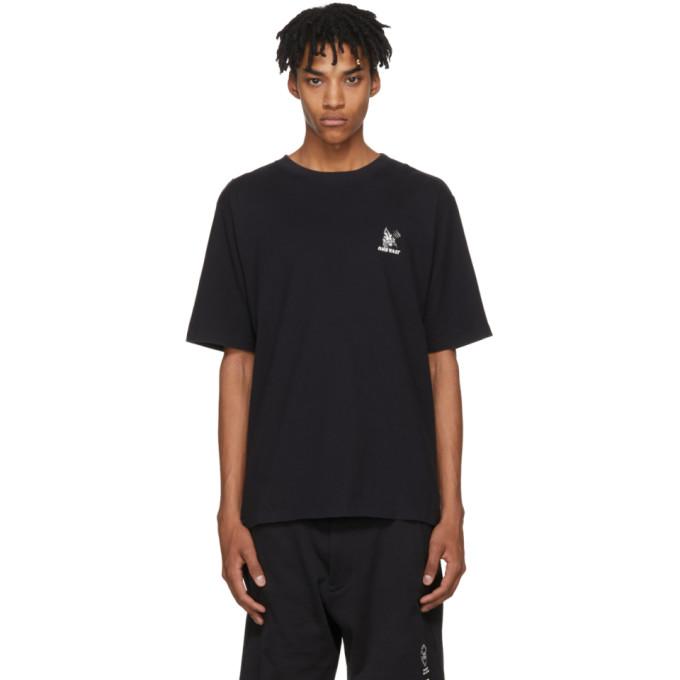 Unravel Black Skull Skate T-Shirt