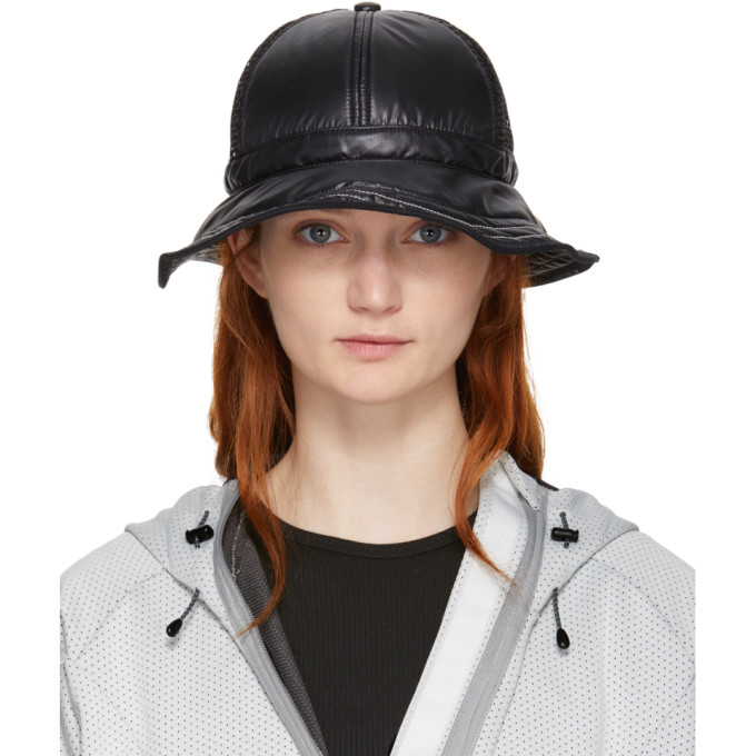 Image of and Wander Black Mesh Hat