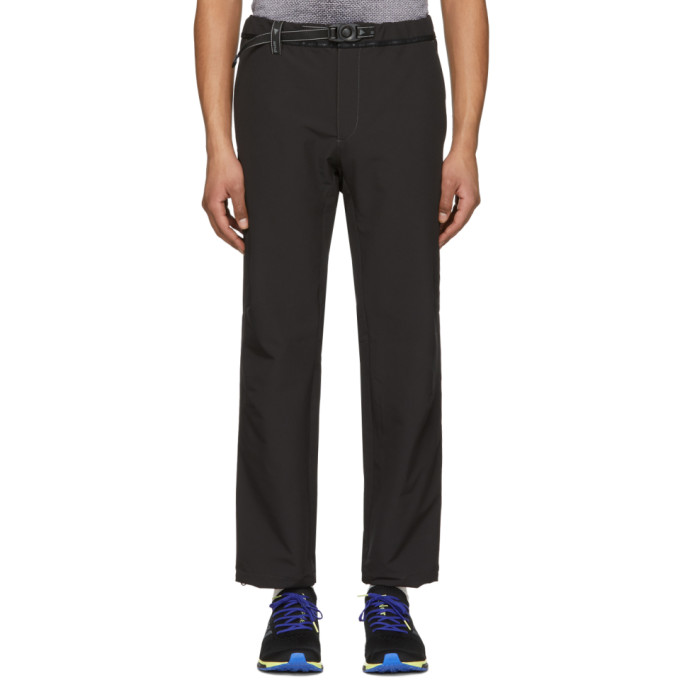 Image of and Wander Black 2-Way Stretch Long Trousers