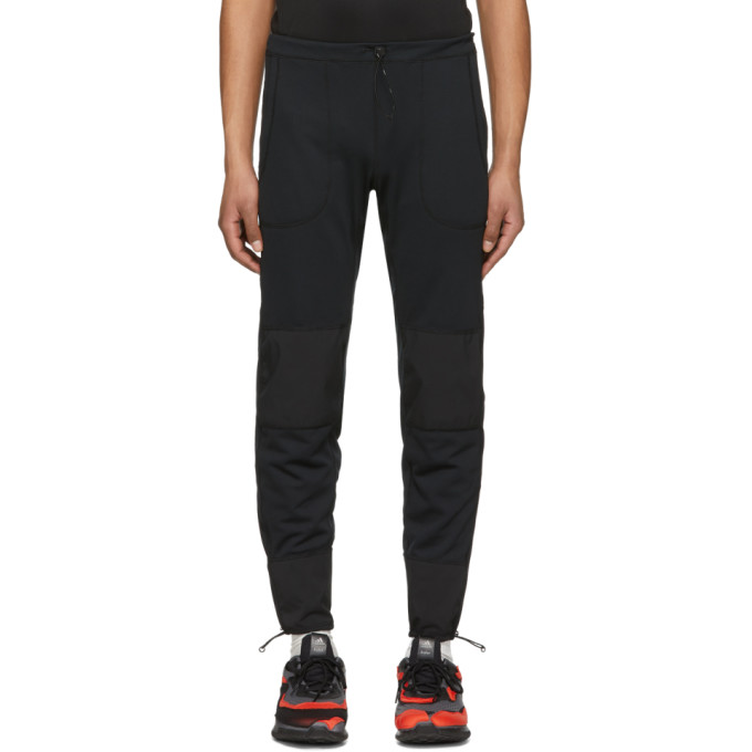 Image of and Wander Black Dry Jersey Tight Sweatpants