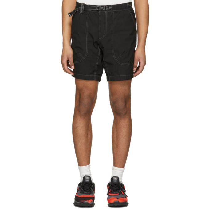 and Wander Black Dry Rip Shorts