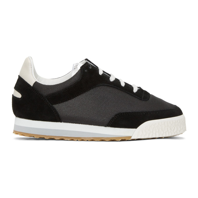 Image of Spalwart Black Pitch Sneakers