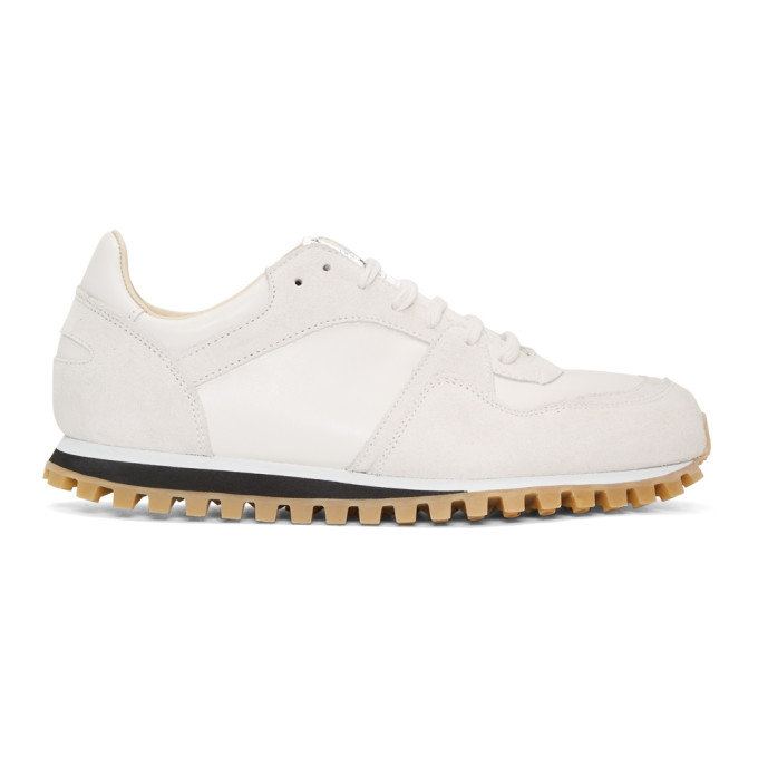 Image of Spalwart White Marathon Trail Sneakers