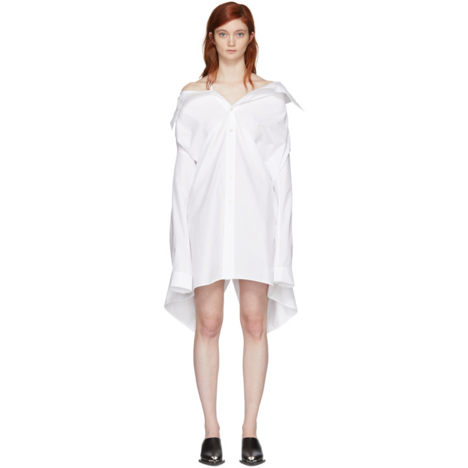Ambush White Shirt Dress