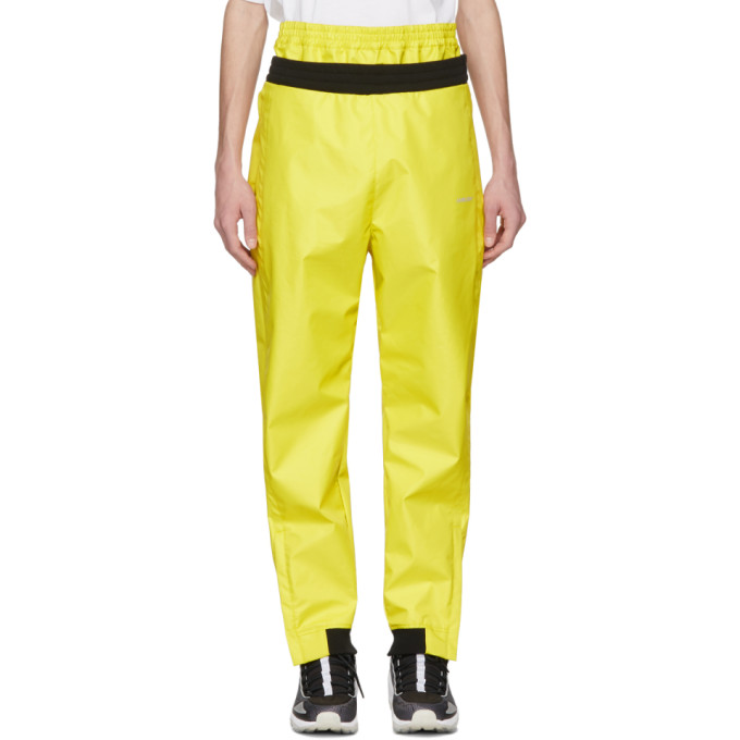 Ambush Yellow Layered Track Pants