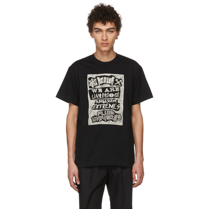 Image of Ambush Black Fluid T-Shirt
