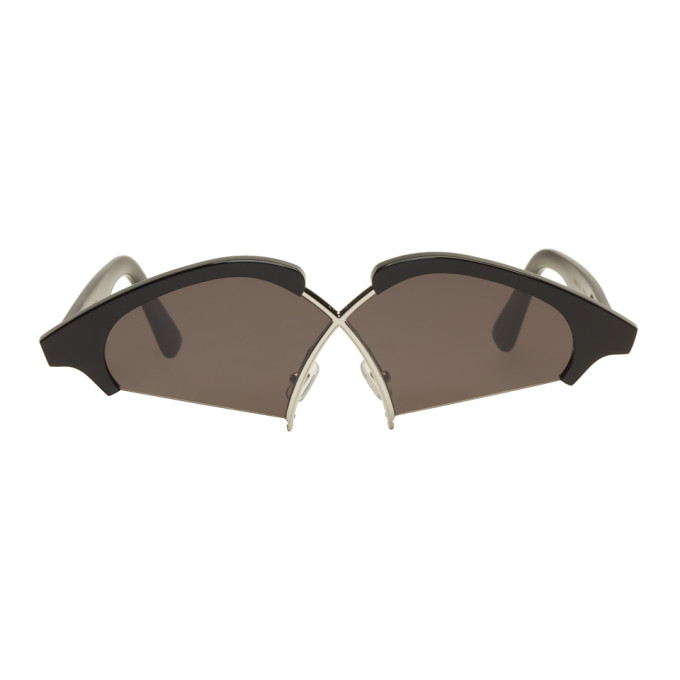 Image of Gentle Monster Black Hood By Air Edition Nunty Sunglasses
