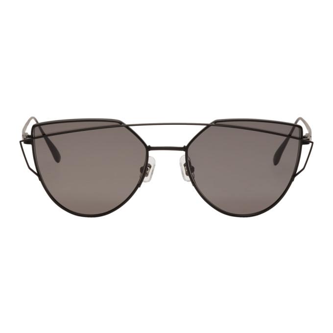 Image of Gentle Monster Black Love Punch Sunglasses