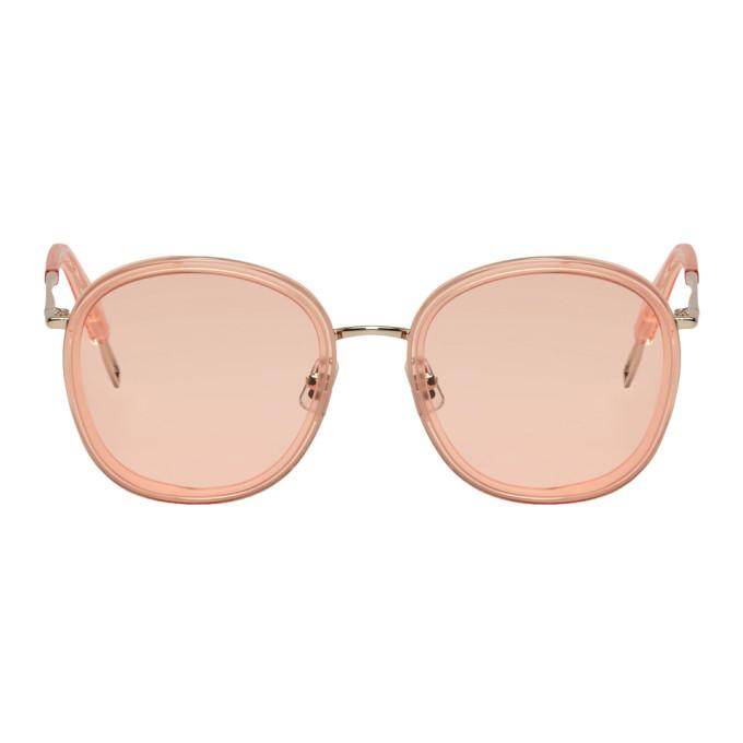 Image of Gentle Monster Pink Ollie Sunglasses