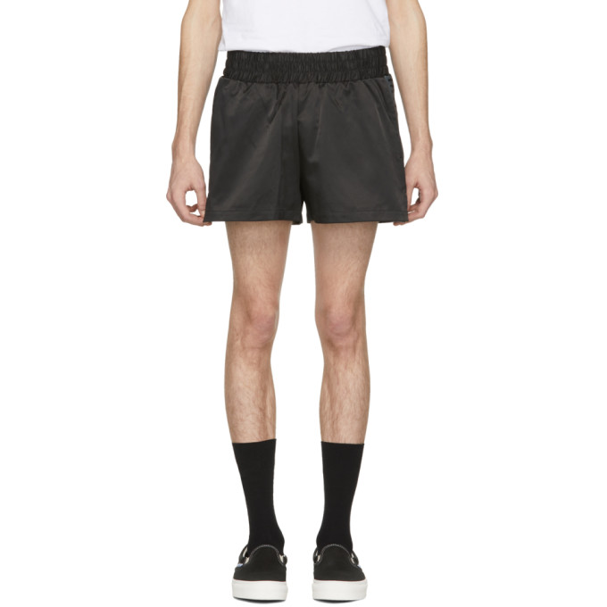 Image of Han Kjobenhavn Black Logo Shorts