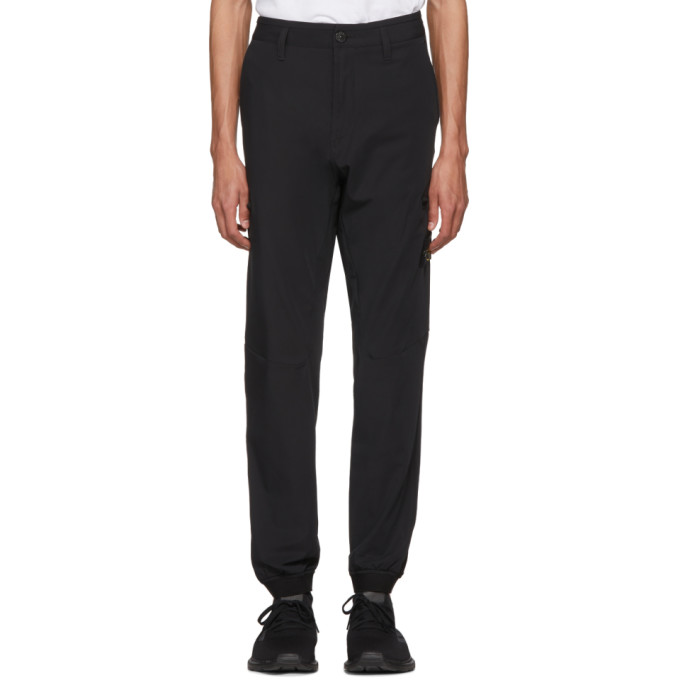 Image of Stone Island Black Cargo Trousers