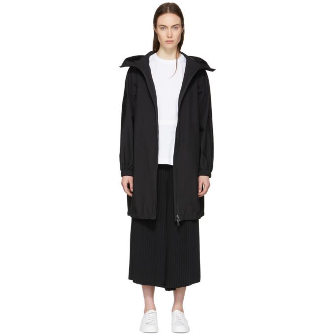 Image of Herno Black Gore-Tex® Long Anorak Coat