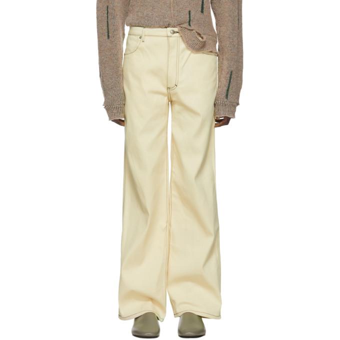 Eckhaus Latta Off-White EL Jeans