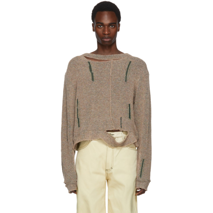 Eckhaus Latta Multicolor Wiggly Road Sweater