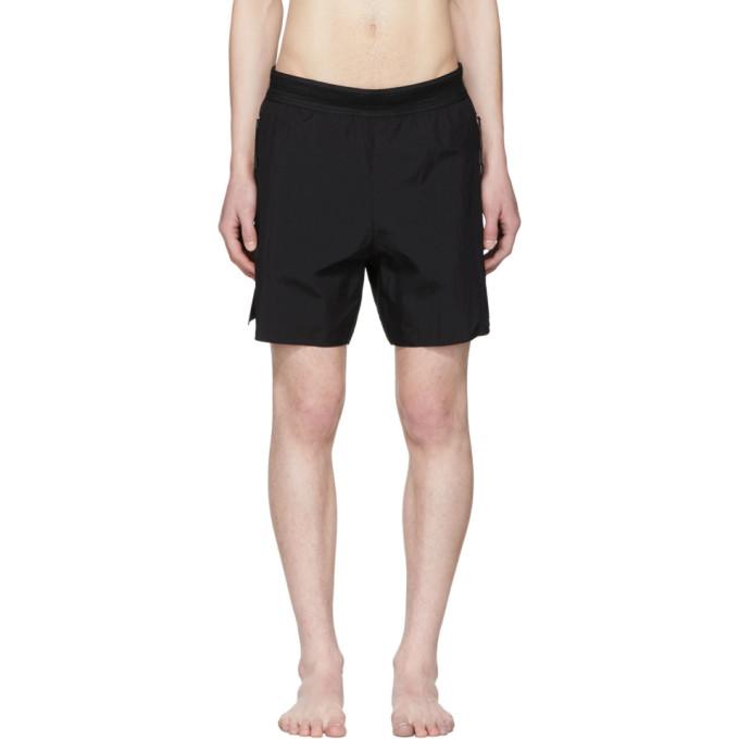Image of ISAORA Black Laser Welded Swim Shorts