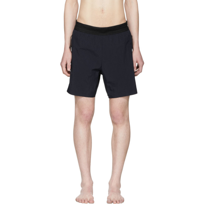 Image of ISAORA Navy Laser Welded Swim Shorts