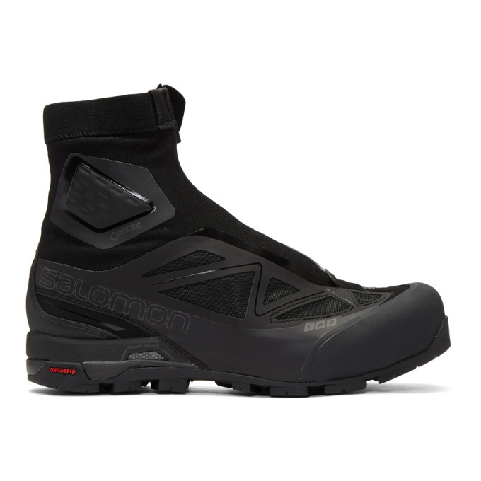 Image of Salomon Black Limited Edition S-Lab X-ALP GTX High-Top Sneakers