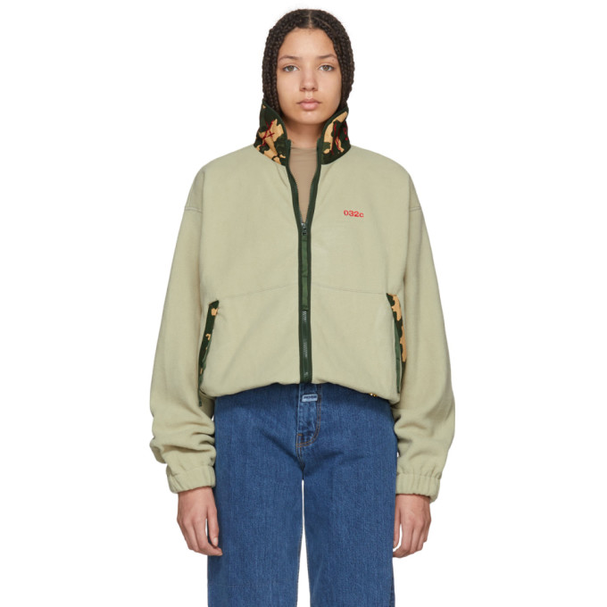 032c Green WWB Fleece Jacket 181843F06300204