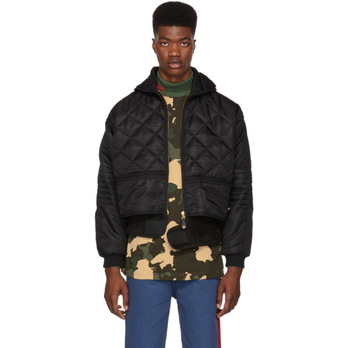 Image of 032c Black Cosmo Jacket