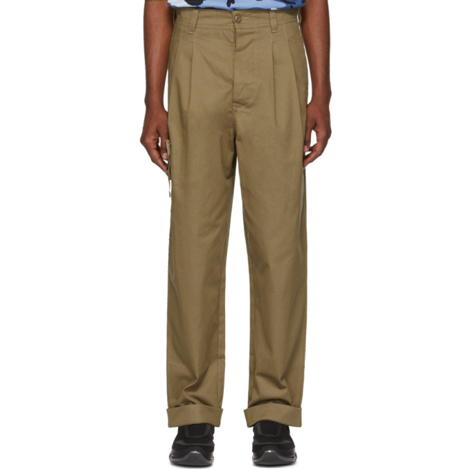 Image of 032c Beige BMC Cargo Pants