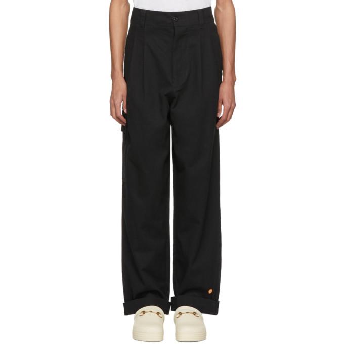 032c 032c black wwb cargo pants