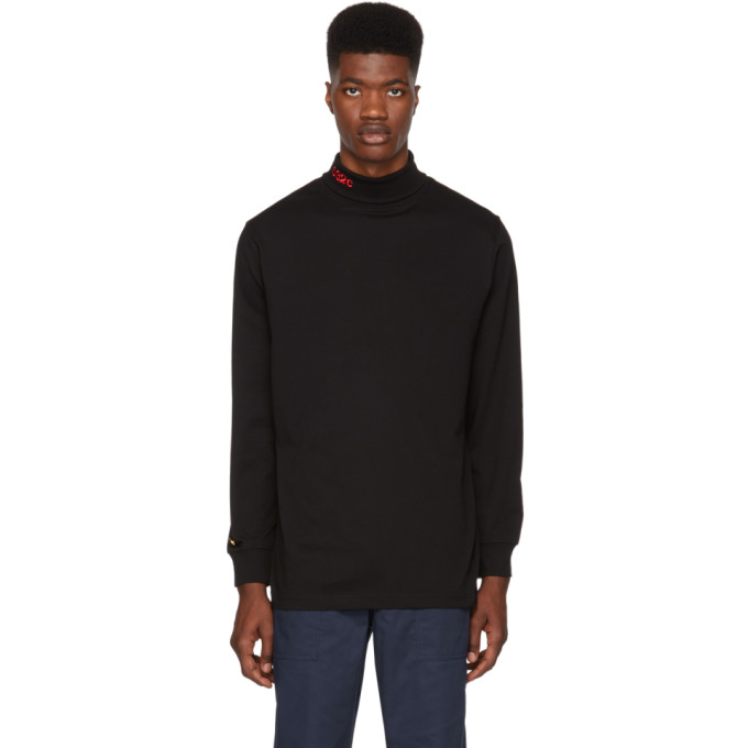 Image of 032c Black BMC Turtleneck
