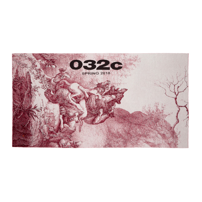 032c Red WWB Barenhetze Throw