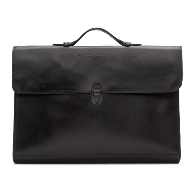 Cherevichkiotvichki Black Messenger Bag