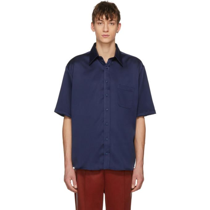 Image of Ribeyron Blue Shiny Shirt