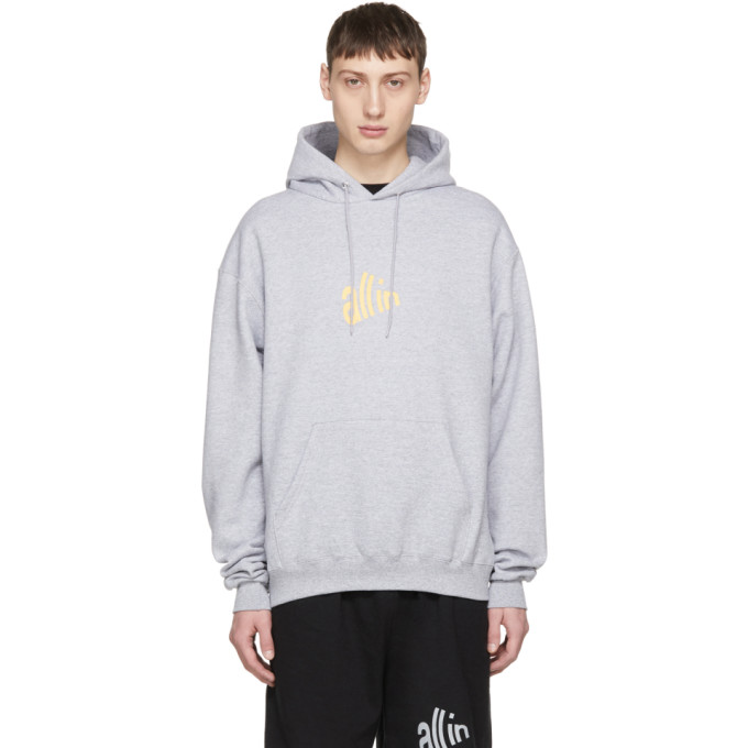 Image of all in Grey Signal Hoodie
