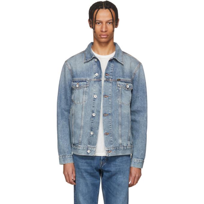 Tiger of Sweden Jeans ブルー デニム プライマル ジャケット