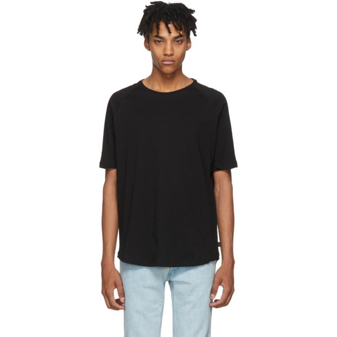 Image of Tiger of Sweden Jeans Black Side Jersey T-Shirt