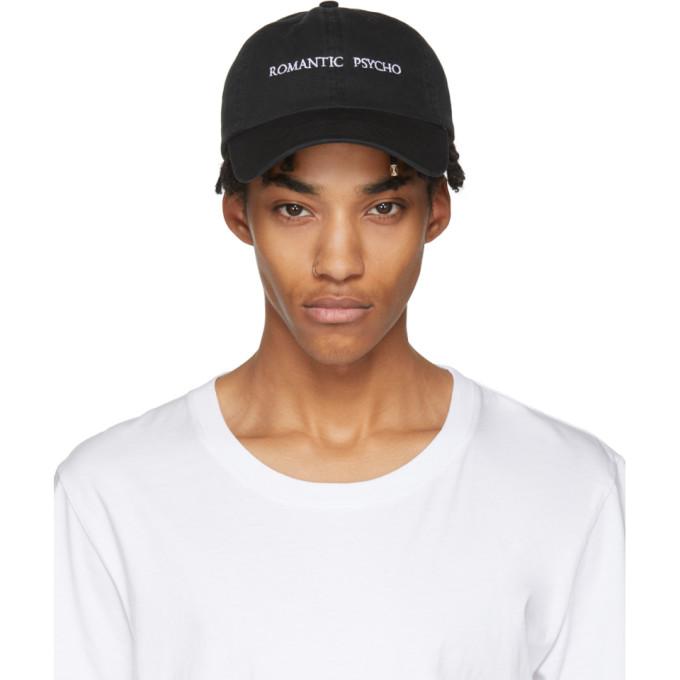 Image of Nasaseasons Black 'Romantic Psycho' Cap