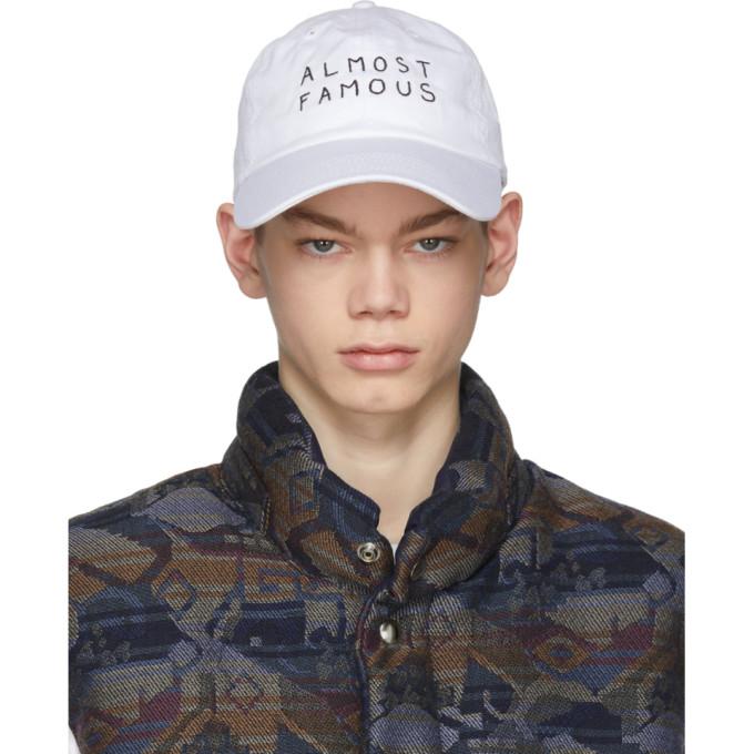 Image of Nasaseasons White 'Almost Famous' Cap