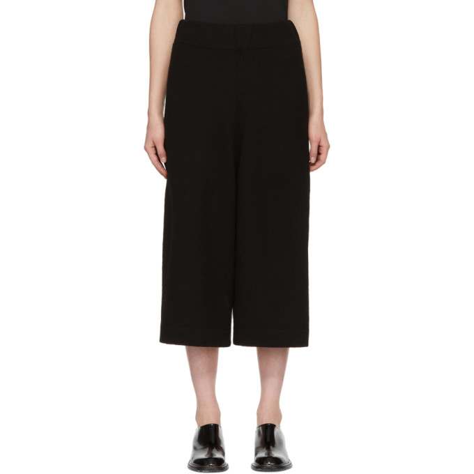 Lauren Manoogian Black Miter Lounge Pants