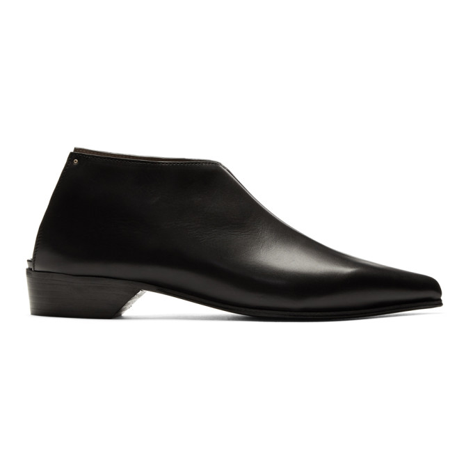 Image of Alumnae Black Mule Boots