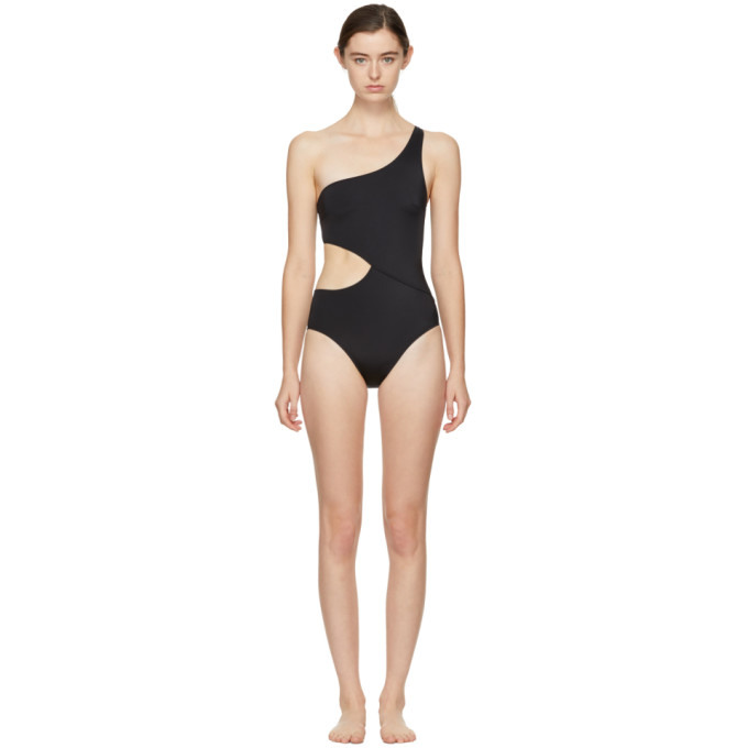Image of Solid & Striped Black 'The Claudia' Swimsuit