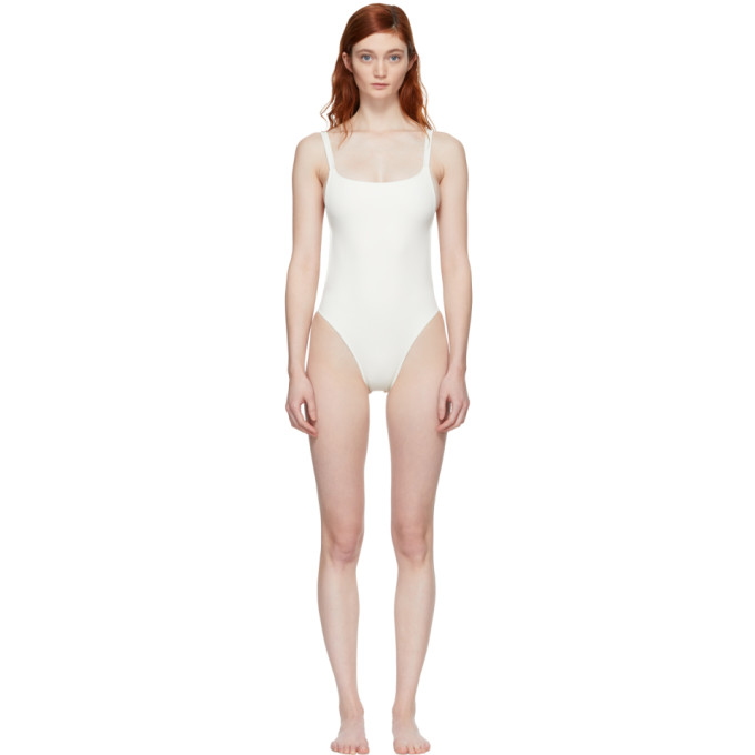 Solid & Striped Ivory The Toni Swimsuit