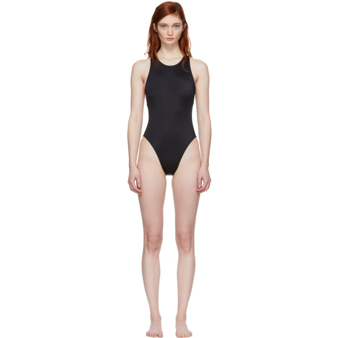 Image of Solid & Striped Black The Eniko Swimsuit